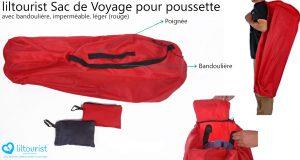 liltourist sac de voyage pour poussette